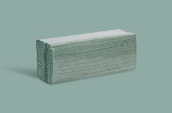 Green C Fold Paper Hand Towel 1 ply